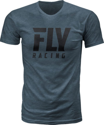 Fly Racing T-Shirt Fly Logo indigo