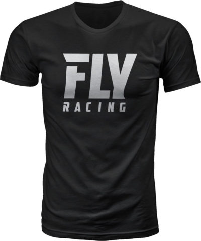 Fly Racing T-Shirt Fly Logo black