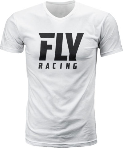 Fly Racing T-Shirt Fly Logo white