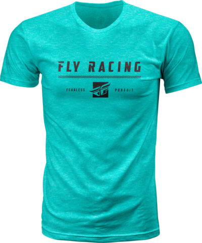 Fly Racing T-Shirt Pursuit heather green