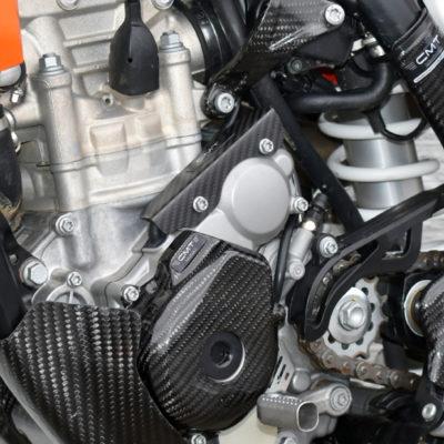 CMT Carbon Kabelführung Zündkabel Protektor KTM SXF / Husqvarna FE 250 350 2016-