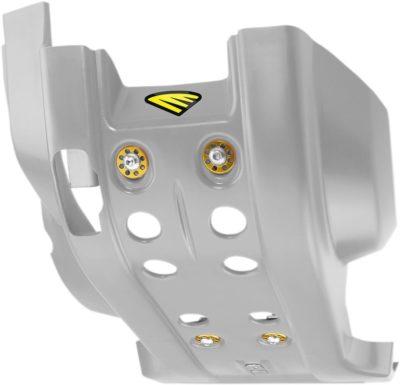 CYCRA FULL COMBAT SKID PLATE / MOTORSCHUTZ HUSQVARNA TE FE 250 300 350 14-16 GRAY