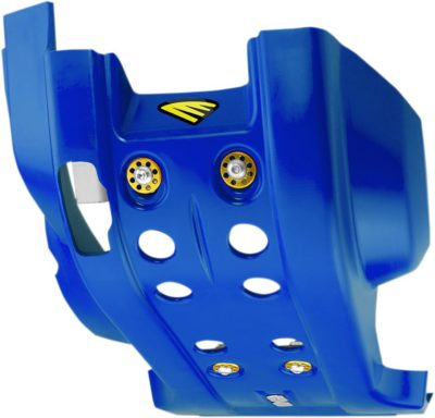 CYCRA FULL COMBAT SKID PLATE / MOTORSCHUTZ HUSQVARNA TE FE 250 300 350 14-16 BLUE