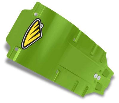CYCRA SPEED ARMOR SKID PLATE / MOTORSCHUTZ KAWASAKI KXF 450 09-16 GREEN