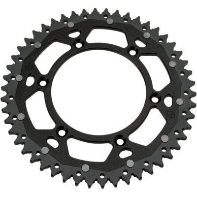 Moose Alu-Stahl Kettenrad KTM SX/EXC 125 250 300 350 450 – schwarz