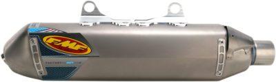 FMF FACTORY 4.1 RCT SLIP-ON SCHALLDÄMPFER TITANIUM NATURAL KTM KTM EXC EXC-F 350 500 12-16