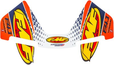FMF AUFKLEBER DECAL 4.1 ORANGE