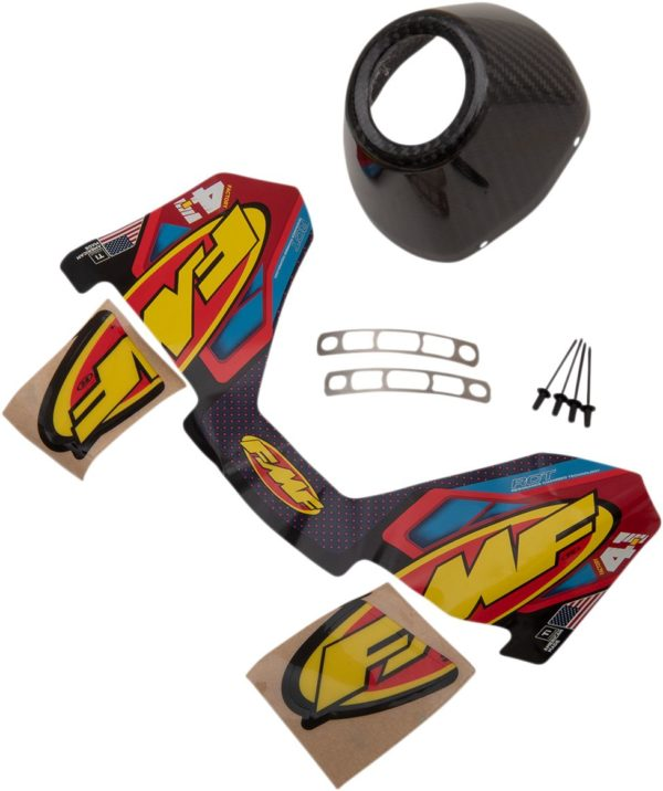 FMF ENDKAPPE CARBON RCT 4.1 DUAL RIGHT HONDA CRF250R 18-20 CRF450R 17-20