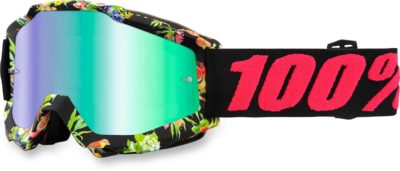 100% BRILLE ACCURI CHAPTER 11 OFFROAD GOGGLE VERSPIEGELTES GLAS MIRROR LENS
