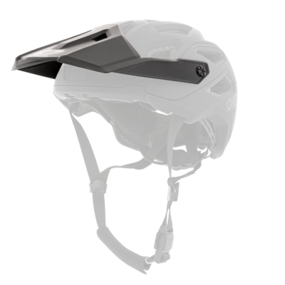 O'Neal Spare Visor PIKE MX Helm SOLID black/gray