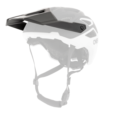 O'Neal Spare Visor PIKE MX Helm SOLID black/white