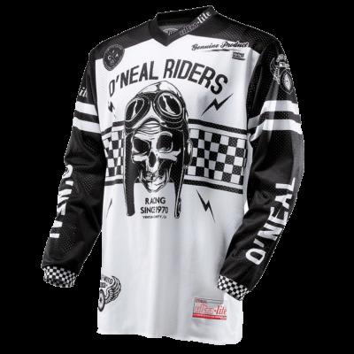 O'Neal ULTRA LITE 70 MX Jersey black/white Motocross Shirt