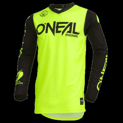 O'Neal THREAT MX Jersey RIDER neon yellow Motocross Shirt