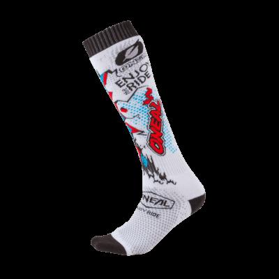 O'Neal PRO MX Socke VILLAIN white