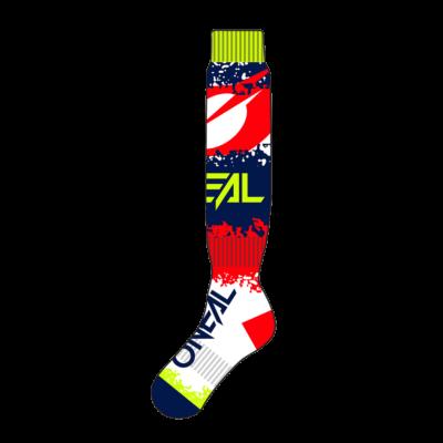 O'Neal PRO MX Socke REVIT red/blue