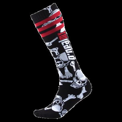 O'Neal PRO MX Socke CROSSBONE black/white