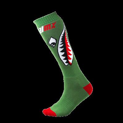 O'Neal PRO MX Socke BOMBER green