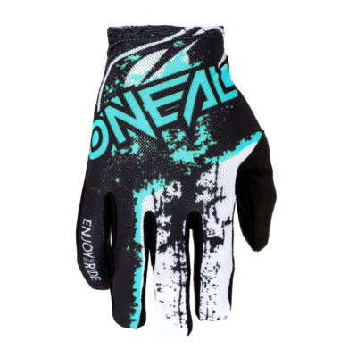 O'Neal MATRIX Handschuhe IMPACT black/teal Motocross Gloves