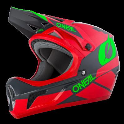 O'Neal Spare Visor SONUS MX Helm DEFT red/gray/green