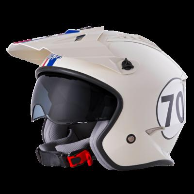 O'Neal Spare Visor VOLT MX Helm HERBIE white/red/blue