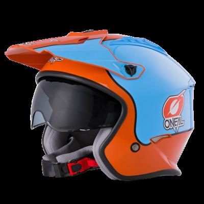 O'Neal Spare Visor VOLT MX Helm GULF orange/blue