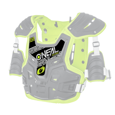 O'Neal Spare Sticker PXR Stone Shield black/neon yellow