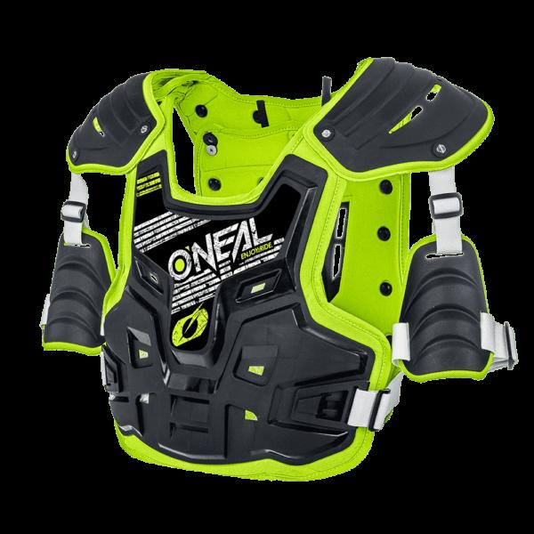 O'Neal Spare Sticker PXR Stone Shield black/neon yellow