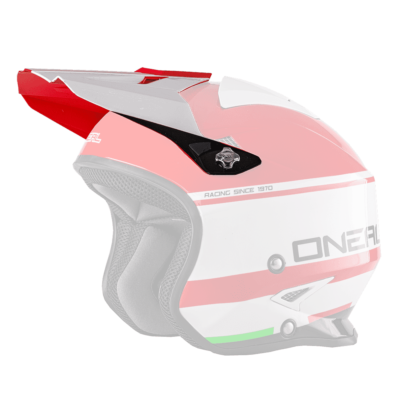 O'Neal Spare Visor SLAT MX Helm CRIMSON