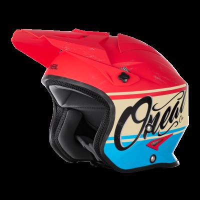 O'Neal Spare Visor SLAT MX Helm VX1 red/blue