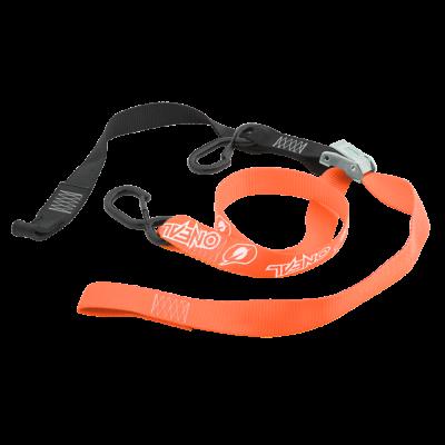 O'Neal DE LUXE Spanngurte Transportgurte mit Haken Tie Downs orange1 Paar