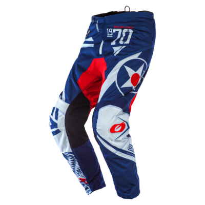 O'Neal ELEMENT MX Hose WARHAWK blue/red Motocross Pants