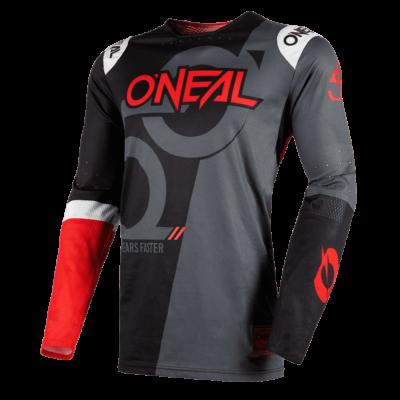 O'Neal PRODIGY MX Jersey FIVE ZERO black/neon red Motocross Shirt