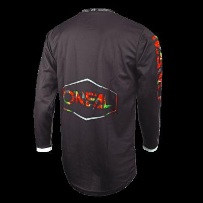 O'Neal MAHALO MX Jersey LUSH black/multi Motocross Shirt