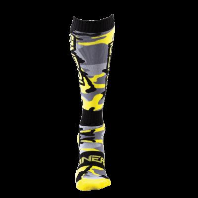 O'Neal PRO MX Socke HUNTER black/gray/neon yellow