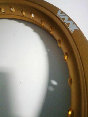 VMX Felge Rim gold 2,15×19 36H gold