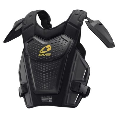 EVS REVO 5 CHEST PROTECTOR BRUSTPANZER'19 BLACK/HI-VIZ