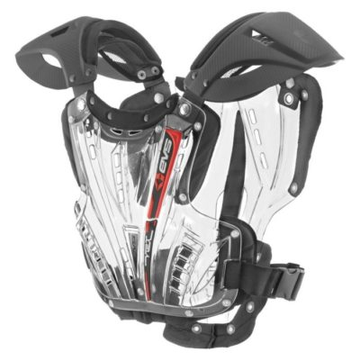 EVS VEX CHEST PROTECTOR CLEAR BRUSTPANZER KLAR