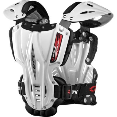 EVS VEX CHEST PROTECTOR BRUSTPANZER WHITE
