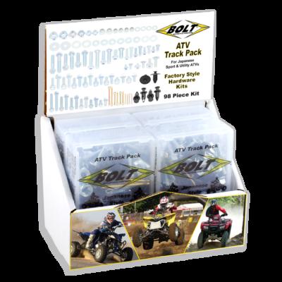 BOLT Track Pack ATV Schraubenkit 6-tlg m. Display