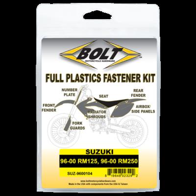 BOLT Schraubenkit für Plastikteile Suzuki RM 125 96-00, RM250 96-00