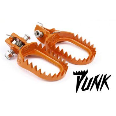 S3 Punk Fußrasten KTM SXF 16-, EXC 17- Orange