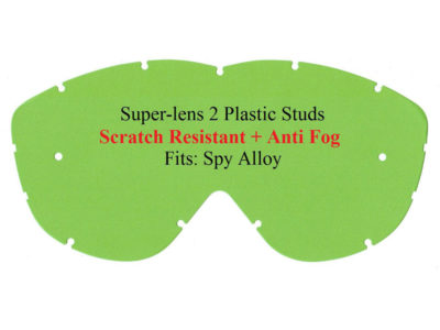 Polywel E-Glas Scheibe Spy Alloy kratzfest m. Halter