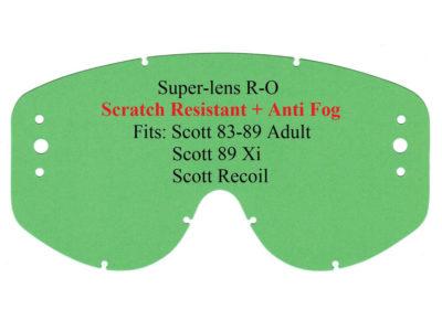 Polywel E-Glas Scheibe Scott 83-89 R-OFF (3Loch) kratzfest klar