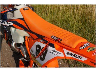 CrossX Sitzbezug UGS-WAVE KTM SX SXF 125 250 350 16-18 / EXC 17-19 Orange