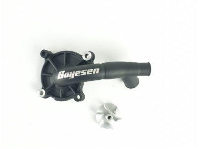 Boyesen SUPERCOOLER Wasserpumpendeckel und Impellerkits Honda CRF 250 18-21 Schwarz