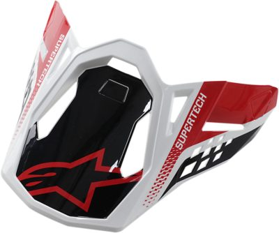 ALPINESTARS VISOR HELMSCHILD SM 8 TRIPLE BLACK GLOSS