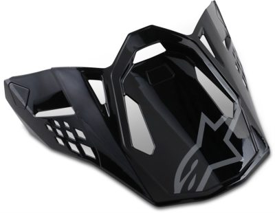 ALPINESTARS VISOR HELMSCHILD SM 8 RADIUM BLACK GLOSS
