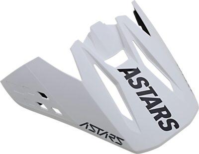 ALPINESTARS VISOR HELMSCHILD SM 5 RAYON BLACK/WHITE