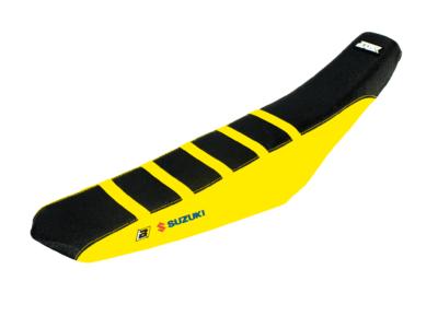 BLACKBIRD Sitzbezug Seatcover ZEBRA Suzuki RMZ 250 19- / 450 18-21 schwarz gelb