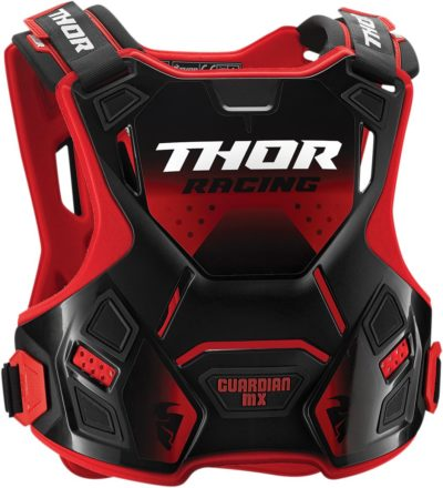 THOR CHEST PROTECTOR BRUSTPANZER YOUTH KIDS GUARDIAN ROT/SCHWARZ